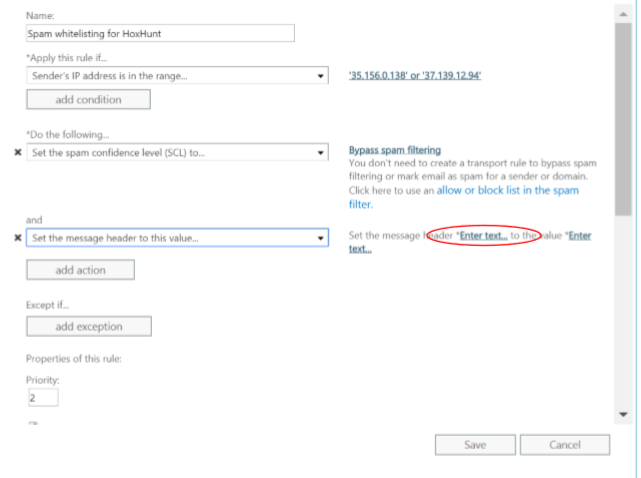 Deployment: IP Whitelisting in Office 365 Admin Center – HoxHunt